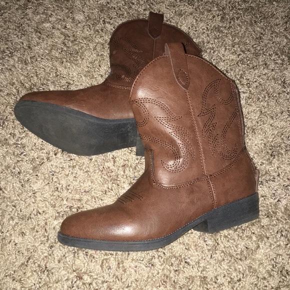 2e09ab576db Cat & Jack Girl Cowboy Boots